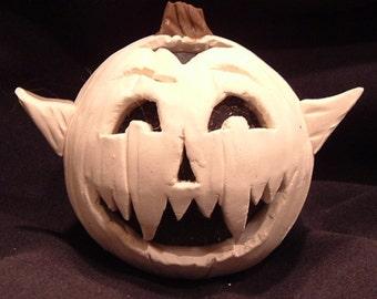 Sculpey Vampire Pumpkin