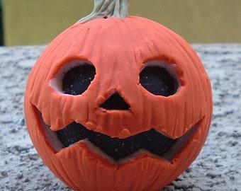 Sculpey crooked-smile Pumpkin
