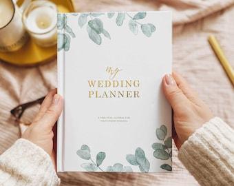 Luxury wedding planner book, engagement gift for brides, wedding scrapbook, gift for brides, wedding checklist, wedding organizer