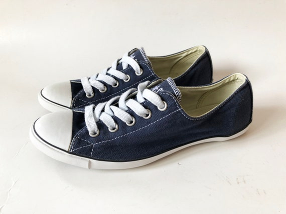 4819570dfca3 Navy Blue Women s Converse All Star Chuck Taylor Sneakers
