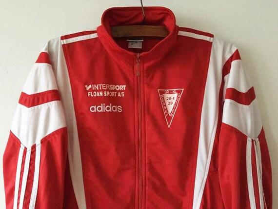 Rouge Jacket Parka Adidas Veste Track Vintage Szfnsxqwwc Jogging 1J3ulcTFK