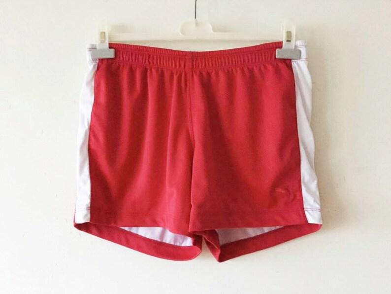 f560f99b9729 Pink PUMA Running Shorts Raspberry Pink Puma Football Shorts
