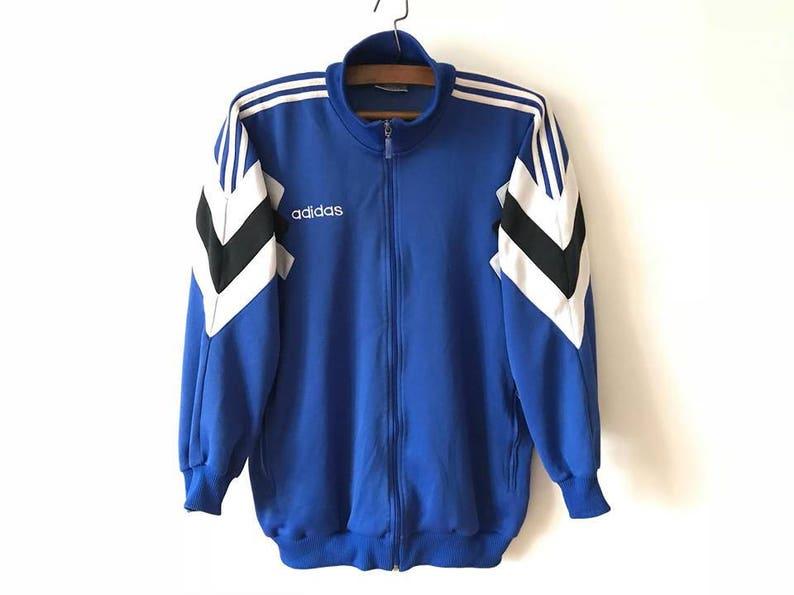 Goede Vintage blauwe ADIDAS jas Adidas Track jas Parka jas Hipster | Etsy JG-77