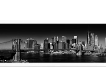 Lower manhattan #3, Signed and Numbered Fine Art Draw