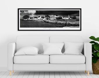 Displays SAINT-CADO ISLAND, Morbihan, Brittany. Printed on satin paper 250 g/m2. FAG0253