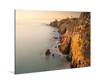 Art print laminated on Alu-Dibond, La Pointe du Toulinguet, Crozon Peninsula, Finistère, Brittany. FAG0016
