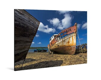 Art print laminated on Alu-Dibond, Rostellec, Crozon Peninsula, Finistère, Brittany. FAG0086
