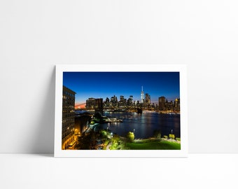 Lower Manhattan #2, New York City, Fine Art print signed and numbered