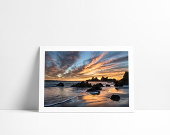 Sunrise at k #2, Fine Art print signed and numbered