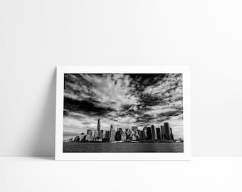Lower Manhattan, New York City, Fine Art print signed and numbered