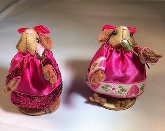 Cute hamster bridesmaid, gift idea, keepsake