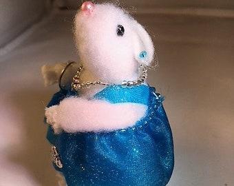 Cute hamster party girl, cute gift idea