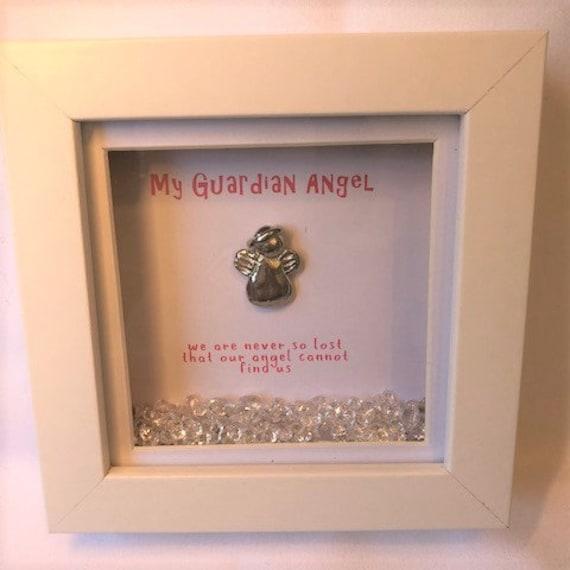 My Guardian Angel Box Frame Etsy