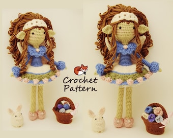 Amigurumi Pattern / Crochet Doll Pattern / Photo Tutorial / Instant Download