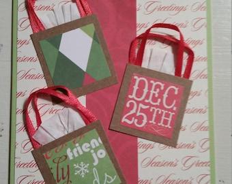 Christmas Card Presents - Handmade Card
