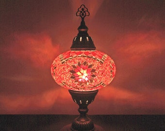Moroccan table lamp etsy aloadofball Images