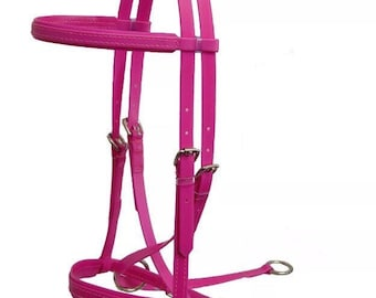Horse Bitless Bridle A Natural Choice~Helps Behavioural Problems Bit-Induced