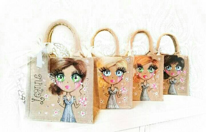 Personalised bridesmaid Gift Bags Personalized bridesmaid bags Personalised Bridesmaid Gift bride gift bridesmaid gift