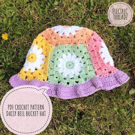 Daisy Bell Bucket Hat Pattern  PDF download