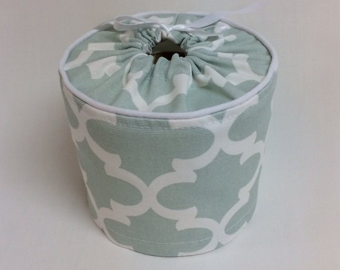 Toilet Paper Cover, Bathroom Storage, Light Green,
