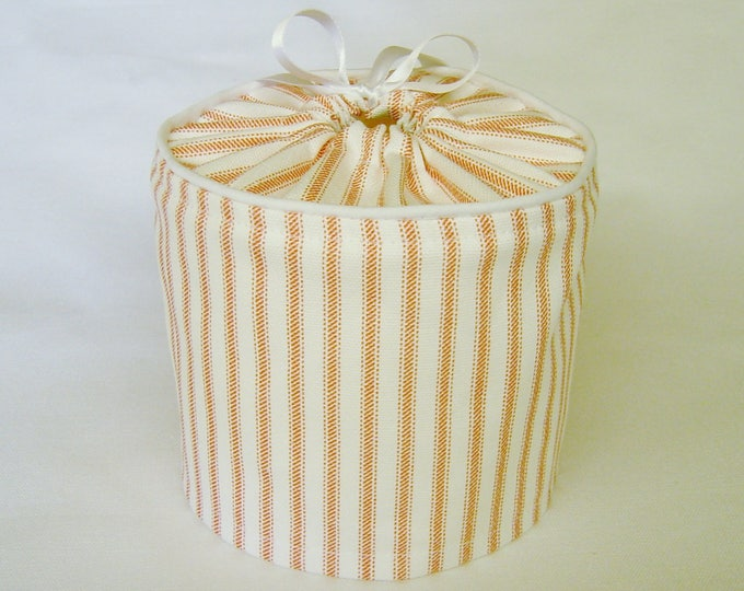 Farmhouse Decor, Bathroom Decor, Rustic, Coral, Bathroom Storage, Rustic Bathroom, Farmhouse bathroom, Toilet paper cover, Spare roll Cover,