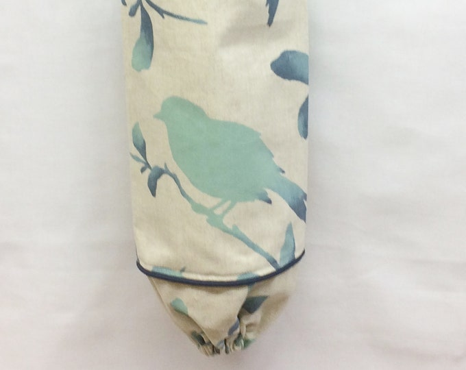 Grocery Bag Holder, Plastic Bag Holder, Housewarming Gift, Kitchen Decor, Farmhouse Decor, New Home Gift, Birds,