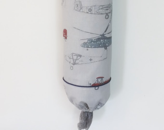 Grocery Bag Holder, Plastic Bag Holder, Aviation, helicopters,