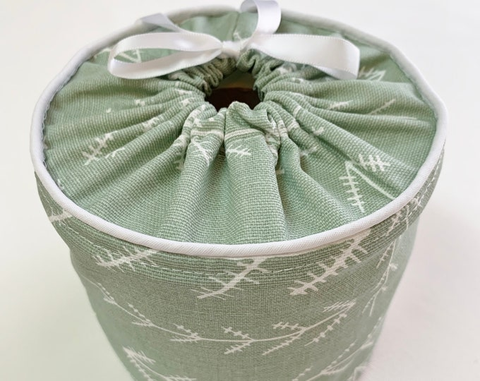 Toilet Paper Covers, Spare Roll Storage, Bathroom Organization,