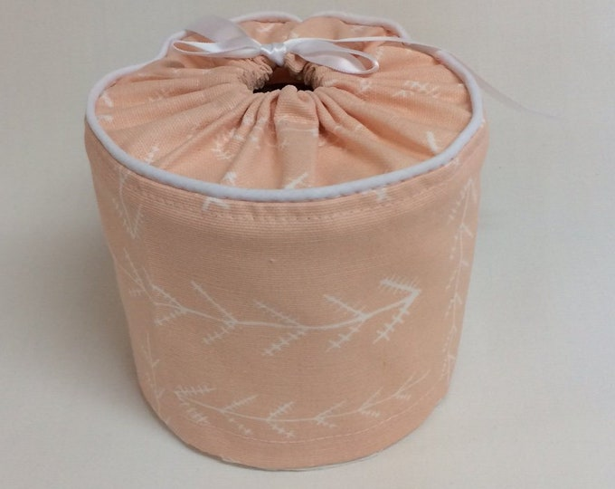 Toilet Paper Cover, Arrow, Coral, Toilet Paper Storage, Bathroom Storage,
