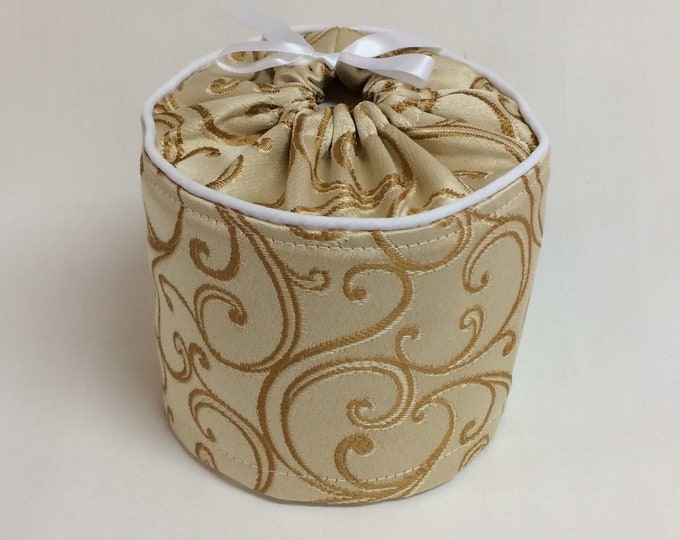 Toilet Paper Cover, Bathroom Storage, Gold Bathroom Accessories,