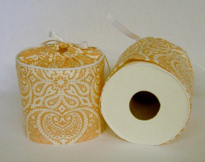 Toilet Paper Roll Cover, Toilet Roll Storage, Bathroom Accessories, Bathroom Decor, Toilet Paper Storage, Shabby Chic, Bathroom Decor, Coral