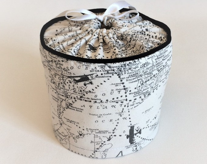 Bathroom Decor, Toilet Paper Cover, Airplane, Aviation, Gift for Pilot, Toilet Roll Cover, Bathroom Storage, Spare Roll Cover Storage, Pilot