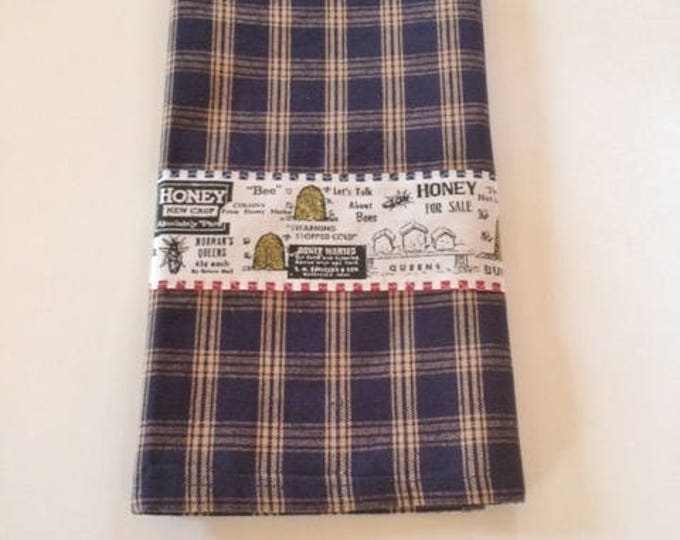 Towels, Hand Towels, Dish Towels, Tea Towels, Farmhouse Kitchen decor, Kitchen Towel, Farmhouse Towel, Country Dish Towels, Blue,