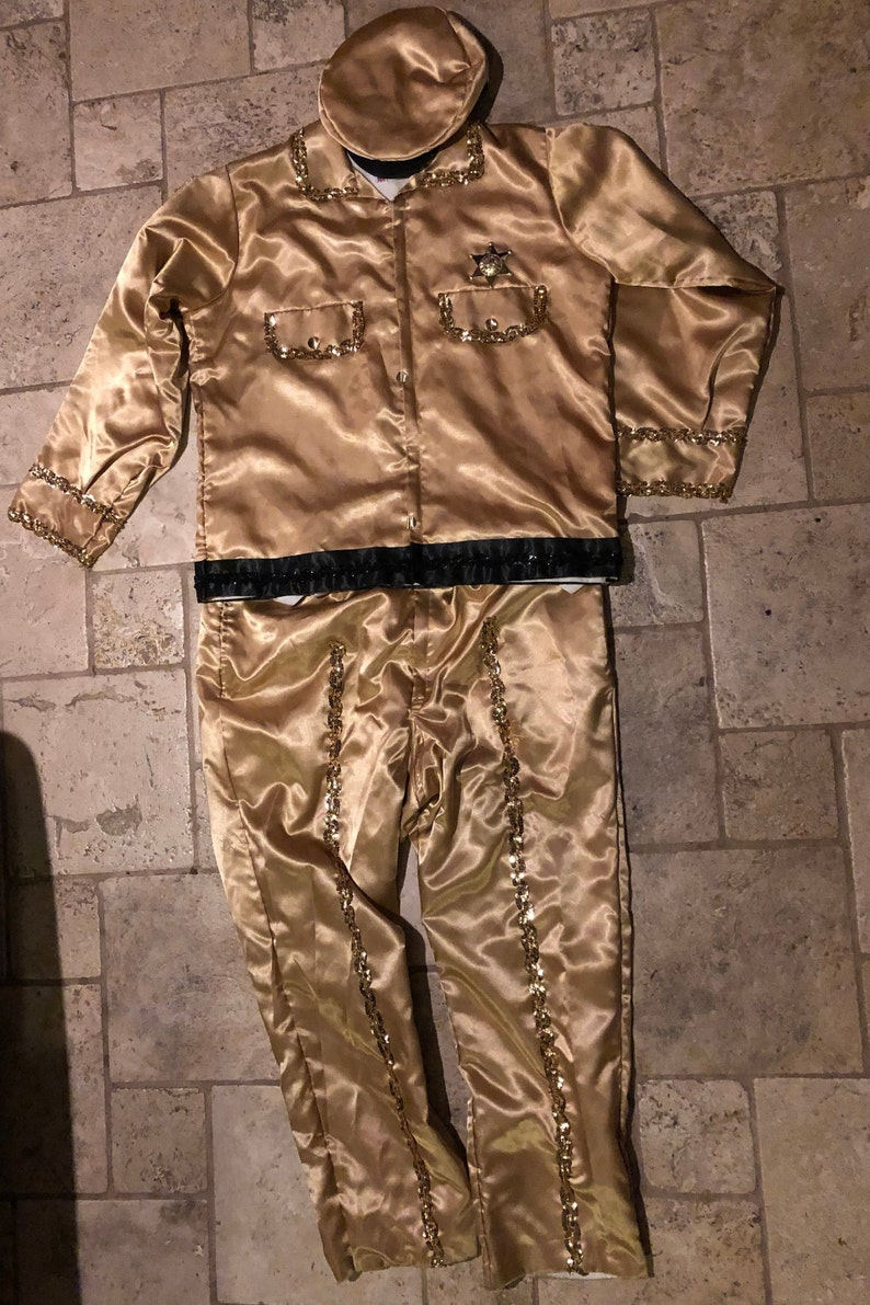 Mardi Gras Mens Sheriff Costume Barney Fife Mayberry Cosplay Andy Griffith  Krewe New Orleans Mobile XL Dragoncon Halloween