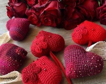Crochet heart. amigurumi  crochet hearts. Amigurumi heart! knitted heart! Crochet heart decor!