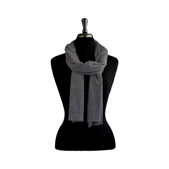 Knitted shawl cashmere shawl pashmina shawl aesthetic clothing vegan clothing knit scarf blanket scarf nepal natural wool gift for women KN