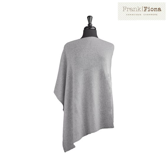 Poncho women aesthetic clothing vegan clothing knit poncho bohemian clothing natural wool nepal organic fabric gift for women gift for her P