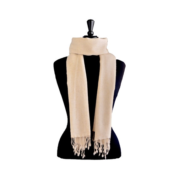 Cashmere shawl knit scarf vegan clothing aesthetic clothing pashmina shawl chunky knit throw nepal organic wool blanket scarf knit throw 3F