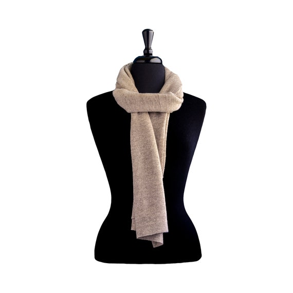 Knitted shawl cashmere shawl pashmina shawl aesthetic clothing vegan clothing knit scarf blanket scarf nepal natural wool gift for women KN