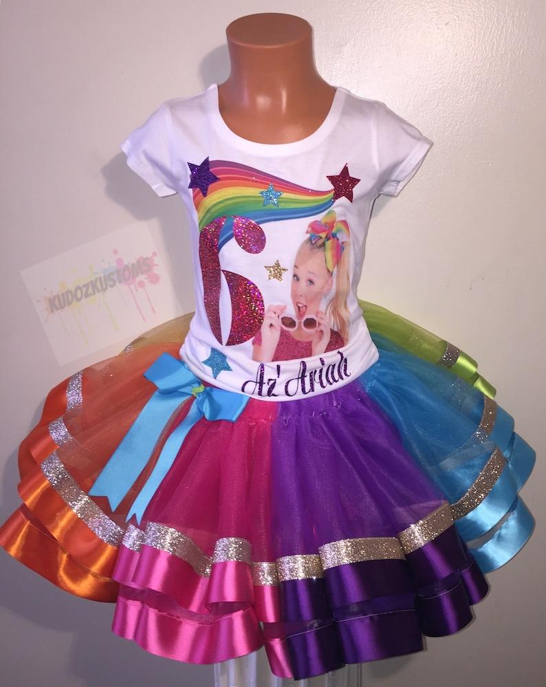 296af2af677d0 Jojo Siwa Outfit, Jojo Siwa Birthday Outfit, Jojo Siwa Tutu Set, Jojo Siwa,  Jojo Siwa Tutu, Jojo Siwa Shirt