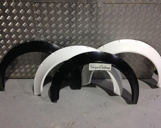 Universal Wheel Arch Extensions 100mm 10cm GrpJdm Jap Drift Rocket Bunny Style