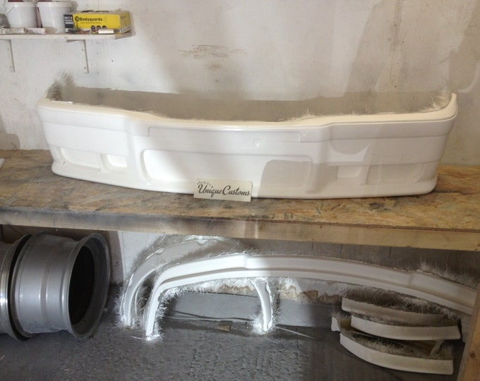Bmw e36 msport fibreglass front bumper m3 coupe compact saloon touring