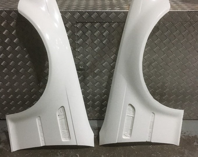 bmw e46 m3 front wings over fenders arches wide