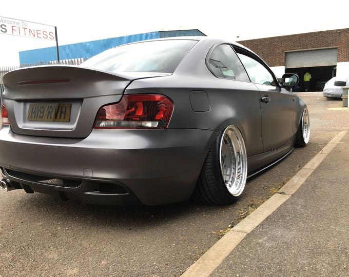 BMW 1 Series E82 Coupe CSL Style M Performance Boot Spoiler Rare 1M Ducktail Lip