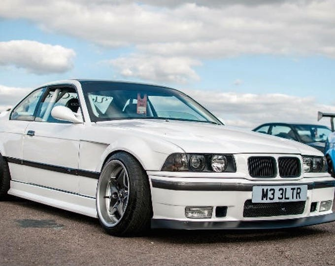 bmw e36 side skirts jdm drift race track car