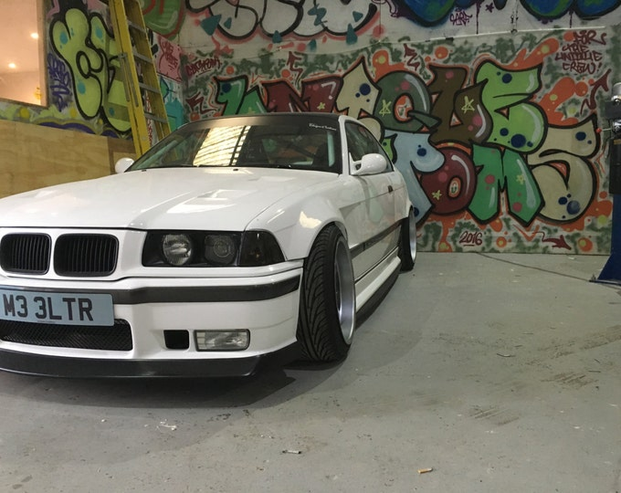 E36 coupe rear overfenders 50mm wide arches pair 3 series coupe