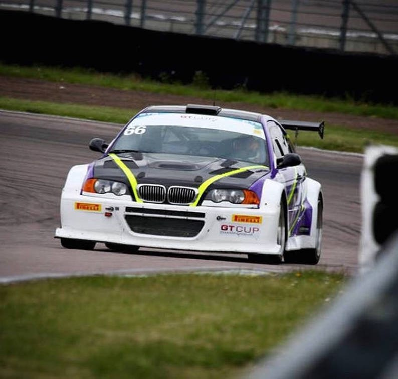 E46 M3 Gtr Style Wide Body Kit Drift Track Show Car 100mm Bumpers Arches