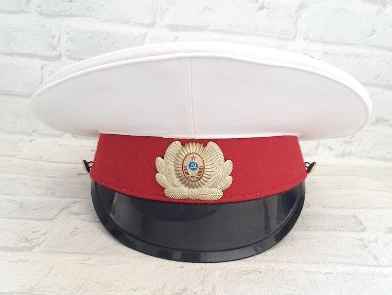 Uniform cap  steampunk Accessories Memorabilia Military image 1