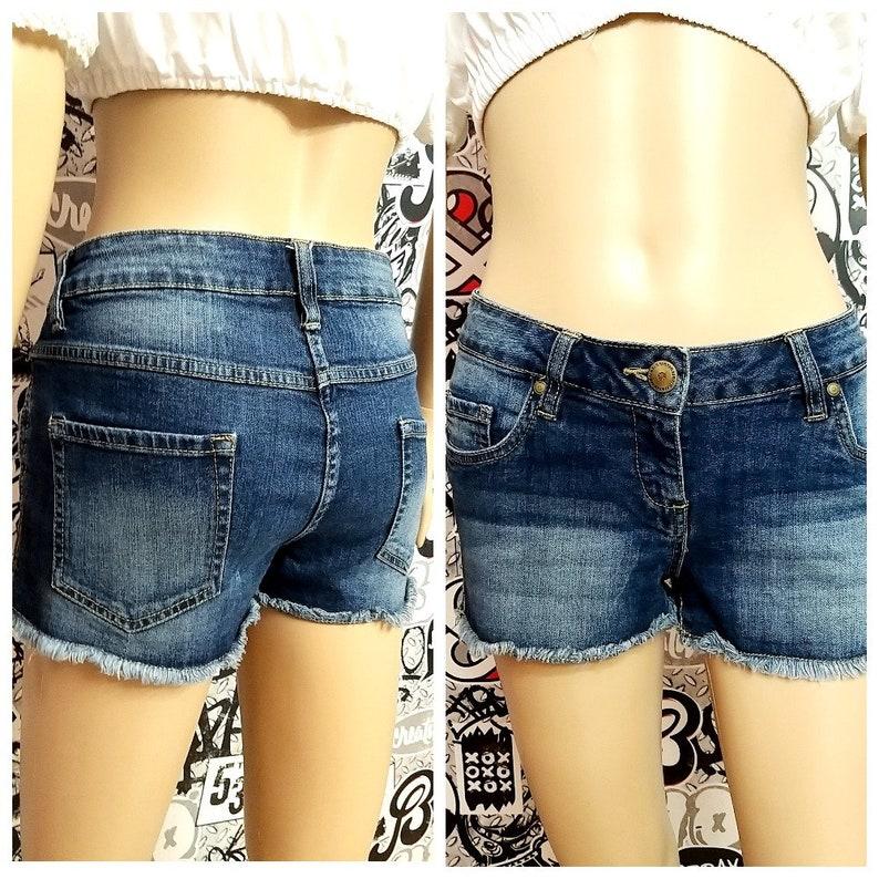 Women's Clothing denim shorts Vintage womens shorts sister image 0