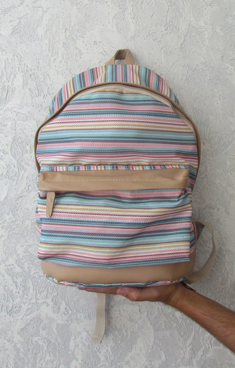 db471e92c7f6 Backpack Vintage back to school backpack kids Backpack Canvas